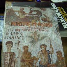 Libros de segunda mano: PEINTURE DE PIERRES, MOHAMED YACOUB. EN FRANCÉS. EP-240. Lote 195069500