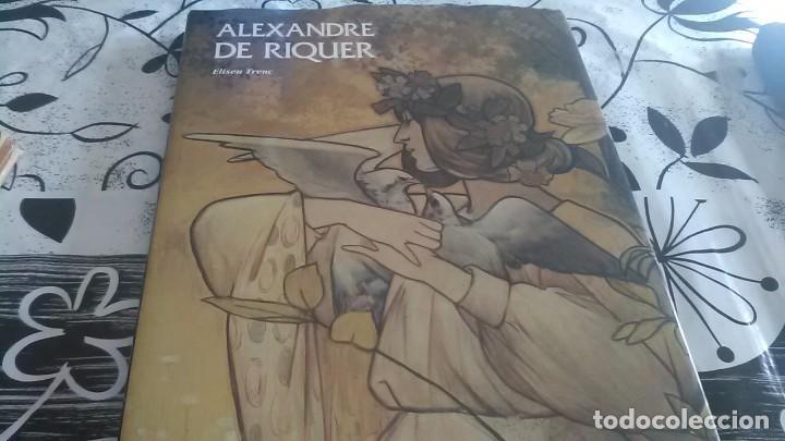 ALEXANDRE DE RIQUER, MODERNISMO (Libros de Segunda Mano - Bellas artes, ocio y coleccionismo - Pintura)