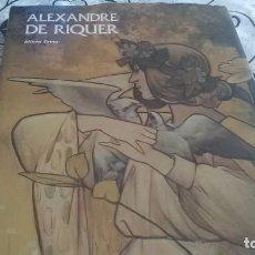 Libros de segunda mano: ALEXANDRE DE RIQUER, MODERNISMO. Lote 195069670