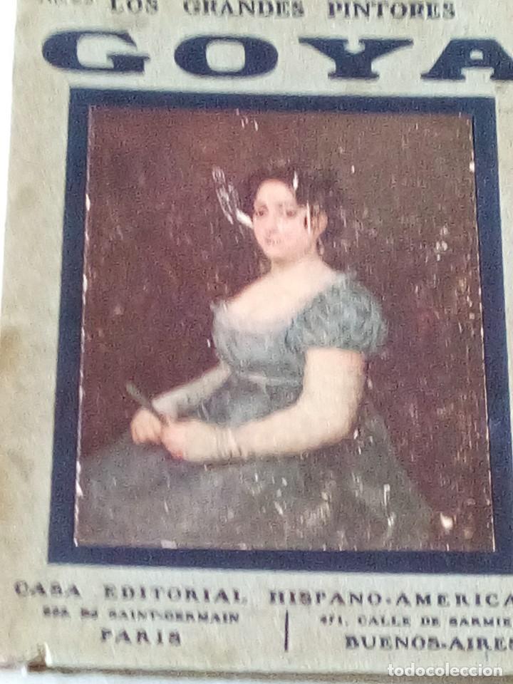 GOYA.LOS GRANDES PINTORES Nº 23. CASA EDITORIAL HISPANO- AMERICANA (Libros de Segunda Mano - Bellas artes, ocio y coleccionismo - Pintura)