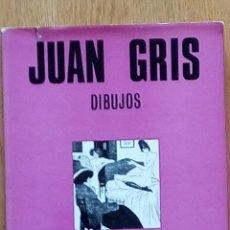 Libros de segunda mano: JUAN GRIS DIBUJOS. EDITORIAL TÁBER. 1969. Lote 195087242