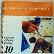 Libros de segunda mano: DESARROLLO DE TEMAS A LA ACUARELA Y AL GUACHE - DIBUJO Y PINTURA / 10 - CEAC 1999 - VER INDICE. Lote 195114157