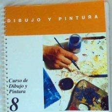 Libros de segunda mano: LA PINTURA CON LÁPICES DE COLORES Y LA PINTURA AL PASTEL - DIBUJO Y PINTURA / 8 - CEAC - VER INDICE. Lote 195118540