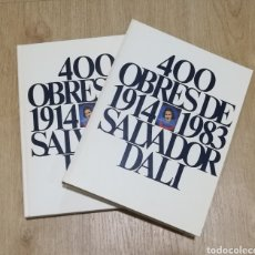 Libros de segunda mano: 400 OBRES DE SALVADOR DALÍ ENTRE 1914 1983. Lote 195141477