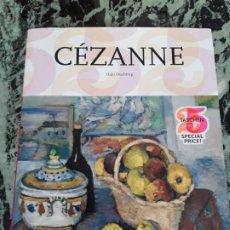 Libros de segunda mano: CEZANNE, DE HAJO DUCHTING. TASCHEN. EXCELENTE ESTADO. GRAN FORMATO, TAPA DURA. IMPRESIONISMO.. Lote 195202190