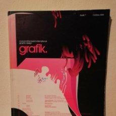 Libros de segunda mano: JOURNAL GRAFIK - ARTE - DISEÑO GRAFICO INTERNACIONAL - OCTUBRE 2005. Lote 195247777