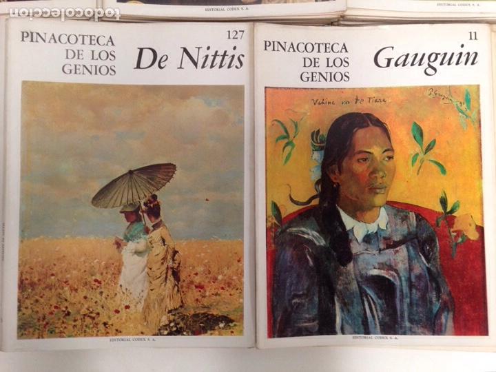 Libros de segunda mano: Pinacoteca de los genios 136 números - Foto 2 - 195333860