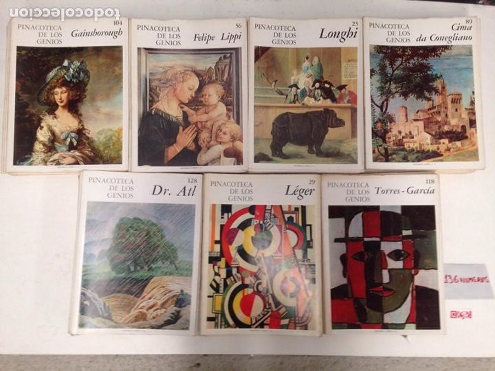 PINACOTECA DE LOS GENIOS 136 NÚMEROS (Libros de Segunda Mano - Bellas artes, ocio y coleccionismo - Pintura)