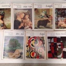 Libros de segunda mano: PINACOTECA DE LOS GENIOS 136 NÚMEROS. Lote 195333860