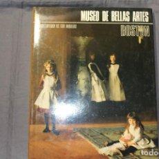 Libros de segunda mano: ENCICLOPEDIA DE LOS MUSEOS. MUSEO DE BELLAS ARTES. BOSTON. Lote 195338435