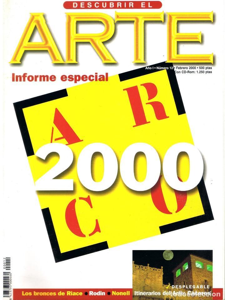 DESCUBRIR EL ARTE Nº 12. FEBRERO 2000. (Libros de Segunda Mano - Bellas artes, ocio y coleccionismo - Pintura)