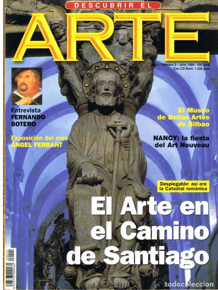 DESCUBRIR EL ARTE Nº 5. JULIO 1999. (Libros de Segunda Mano - Bellas artes, ocio y coleccionismo - Pintura)