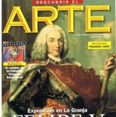 Libros de segunda mano: DESCUBRIR EL ARTE Nº 17. JULIO 2000.. Lote 195345010