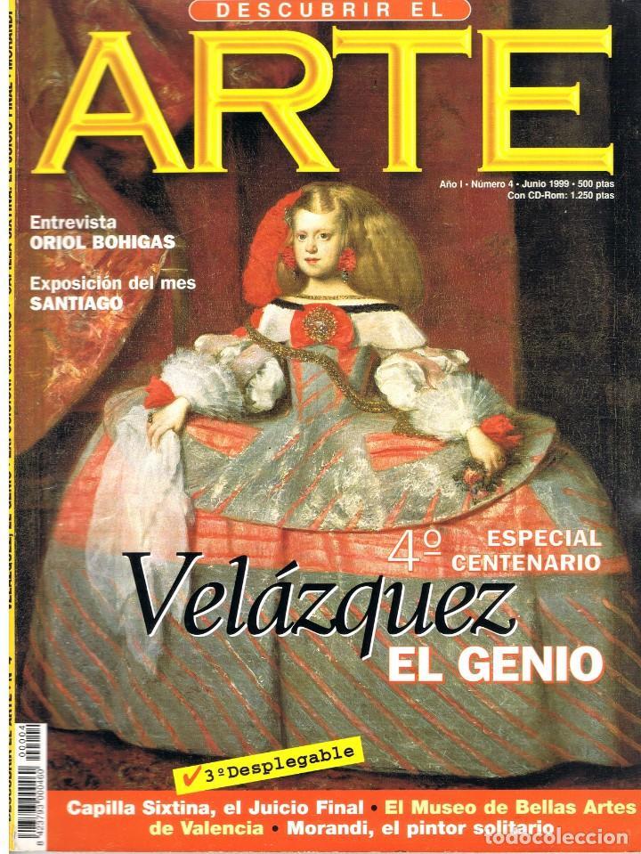 DESCUBRIR EL ARTE Nº 4. JUNIO 1999. (Libros de Segunda Mano - Bellas artes, ocio y coleccionismo - Pintura)