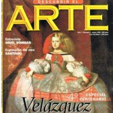 Libros de segunda mano: DESCUBRIR EL ARTE Nº 4. JUNIO 1999.. Lote 195345022