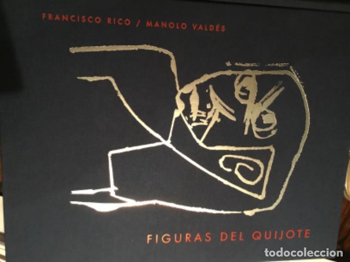 FIGURAS DEL QUIJOTE MANOLO VALDES FRANCISCO RICO (Libros de Segunda Mano - Bellas artes, ocio y coleccionismo - Pintura)