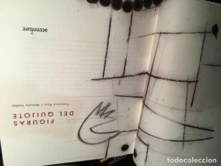Libros de segunda mano: Figuras del Quijote manolo Valdes Francisco Rico - Foto 2 - 195345103