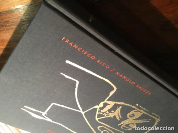 Libros de segunda mano: Figuras del Quijote manolo Valdes Francisco Rico - Foto 8 - 195345103