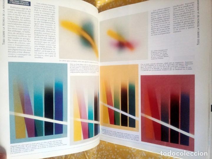 Libros de segunda mano: TODO SOBRE LA TÉCNICA DE LA AEROGRAFÍA - PARRAMÓN - ISBN 9788434223950 - Foto 3 - 195379250
