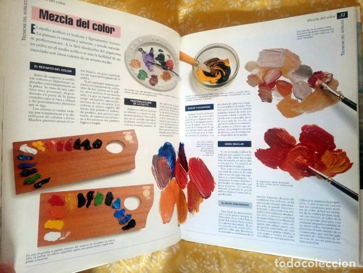Libros de segunda mano: TODO SOBRE LA TECNICA DEL ACRILICO - PARRAMON - ISBN: 9788434225428 - Foto 4 - 195385371
