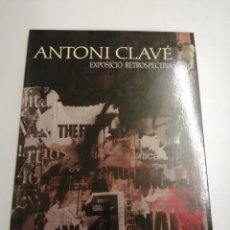 Libros de segunda mano: CATALEG. ANTONI CLAVÉ. EXPOSICIÓ RETROSPECTIVA. 1989 BARCELONA. GENERALITAT DE CATALUNYA.. Lote 195456866