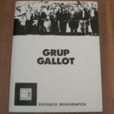 Libros de segunda mano: GRUP GALLOT. EXPOSICIO MONOGRAFICA MUSEU D´ART DE SABADELL. Lote 195469510