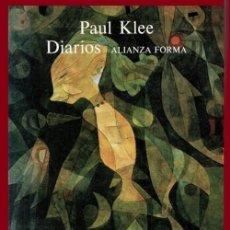 Libros de segunda mano: PAUL KLEE. DIARIOS. (1898-1918). PINTURA. PINTOR. ARTE. EXPRESIONISMO. SUBERRALISMO. ABSTRACCION.. Lote 195513630
