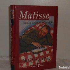 Libros de segunda mano: HILARY SPURLING. MATISSE. BIOGRAFÍA EDHASA, 2007. 700.PÁGS. ILUSTRADO EN NEGRO Y COLOR.. Lote 195545980