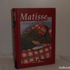 Libros de segunda mano: HILARY SPURLING. MATISSE. BIOGRAFÍA EDHASA, 2007. 700.PÁGS. ILUSTRADO EN NEGRO Y COLOR.. Lote 195546078