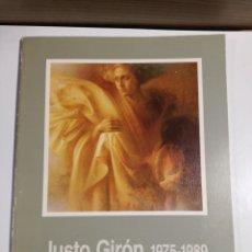 Livros em segunda mão: JUSTO GIRÓN 1975-1989. Lote 195668002