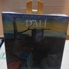 Libros de segunda mano: DALÍ - GRANS GENIS DE L'ART A CATALUNYA. Lote 195924190