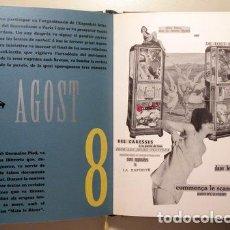 Libros de segunda mano: HUGNET, GEORGE - AGENDA IVAM 2000. LA SEPTIÈME FACE DU DÉ - VALENCIA 1999 - ILUSTRADA. Lote 196504947