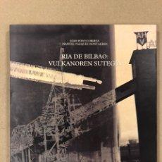 Libros de segunda mano: RIA DE BILBAO: VULKANOREN SUTEGIA. JOAN FONTCUBERTA Y MANUEL VÁZQUEZ MONTALBAN. Lote 196749988