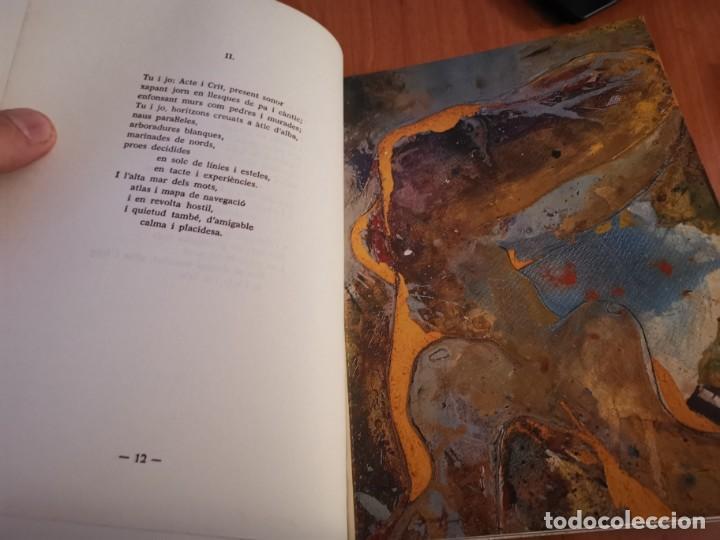 RAMBLES D'ABRIL I CANYAR DE LLANCES POESÍA I PINTURA PER PERE FONT ESPORLES MALLORCA 1992 (Libros de Segunda Mano - Bellas artes, ocio y coleccionismo - Pintura)