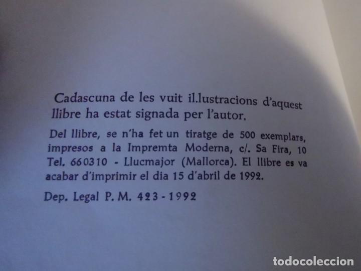 Libros de segunda mano: RAMBLES DABRIL I CANYAR DE LLANCES POESÍA I PINTURA PER PERE FONT ESPORLES MALLORCA 1992 - Foto 3 - 196938728