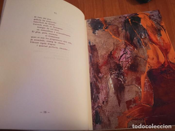 Libros de segunda mano: RAMBLES DABRIL I CANYAR DE LLANCES POESÍA I PINTURA PER PERE FONT ESPORLES MALLORCA 1992 - Foto 4 - 196938728