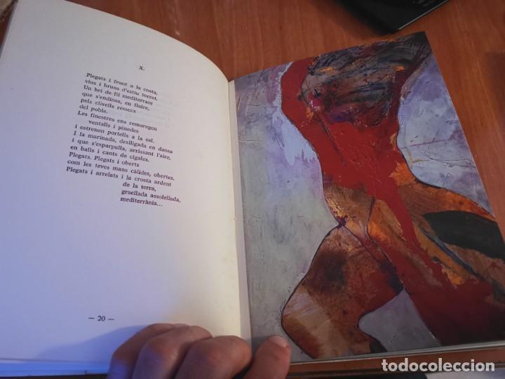 Libros de segunda mano: RAMBLES DABRIL I CANYAR DE LLANCES POESÍA I PINTURA PER PERE FONT ESPORLES MALLORCA 1992 - Foto 5 - 196938728