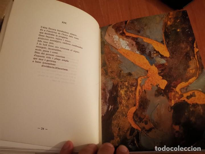 Libros de segunda mano: RAMBLES DABRIL I CANYAR DE LLANCES POESÍA I PINTURA PER PERE FONT ESPORLES MALLORCA 1992 - Foto 6 - 196938728
