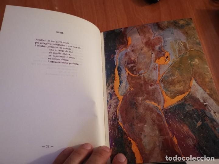 Libros de segunda mano: RAMBLES DABRIL I CANYAR DE LLANCES POESÍA I PINTURA PER PERE FONT ESPORLES MALLORCA 1992 - Foto 7 - 196938728