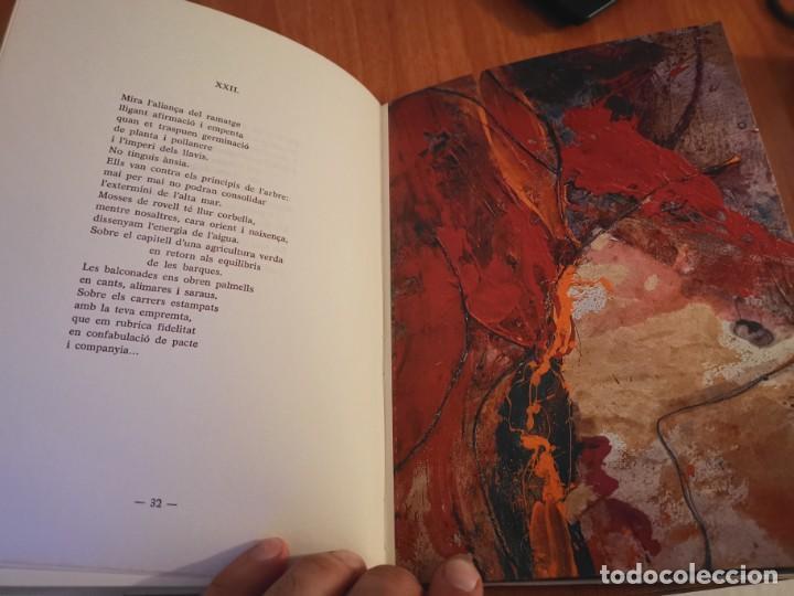 Libros de segunda mano: RAMBLES DABRIL I CANYAR DE LLANCES POESÍA I PINTURA PER PERE FONT ESPORLES MALLORCA 1992 - Foto 8 - 196938728