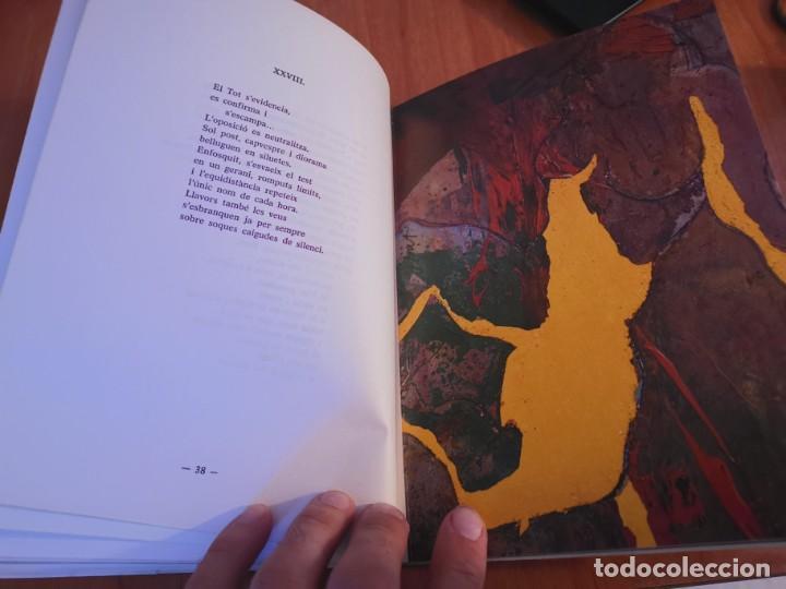 Libros de segunda mano: RAMBLES DABRIL I CANYAR DE LLANCES POESÍA I PINTURA PER PERE FONT ESPORLES MALLORCA 1992 - Foto 9 - 196938728