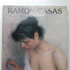 Libros de segunda mano: RAMON CASAS. EXPOSICION ORGANIZADA POR EL BANCO DE BILBAO. MADRID. 1983. Lote 196975166