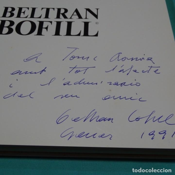 Libros de segunda mano: Libro de Joan Beltrán bofill.primer premio Gustavo gili 1984.dedicado y firmado. - Foto 4 - 197234830