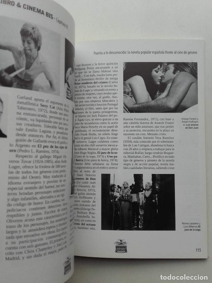 Libros de segunda mano: PEOR... ¡IMPOSIBLE! PRESENTA. BOLSILIBRO & CINEMA BIS - JAVIER G. ROMERO - CINE - Foto 11 - 211444542