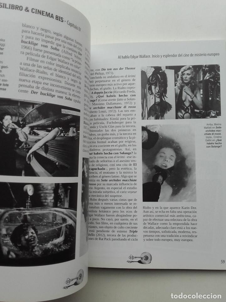 Libros de segunda mano: PEOR... ¡IMPOSIBLE! PRESENTA. BOLSILIBRO & CINEMA BIS - JAVIER G. ROMERO - CINE - Foto 4 - 211444542