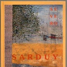 Libros de segunda mano: SEVERO SARDUY. Lote 197713956