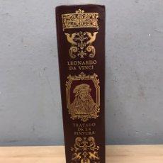 Libros de segunda mano: TRATADO DE LA PINTURA POR LEONARDO DA VINCI CÍRCULO DE BIBLIÓFILOS 1979. Lote 198192858