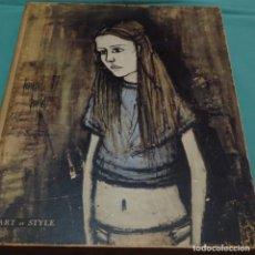 Libros de segunda mano: ART ET STYLE.BERNARD BUFFET.PIERRE BERGE.1958.. Lote 198623578
