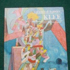 Libros de segunda mano: LOS GENIOS DE LA PINTURA BIBLIOTECA SARPE KLEE. Lote 198736830