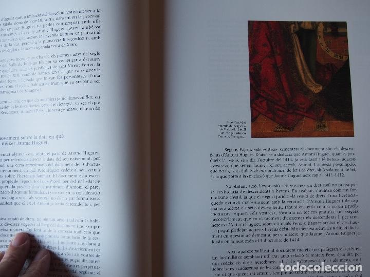 Libros de segunda mano: Un cert Jaume Huguet el capvespre dun somni. Joan Sureda i Pons. - Foto 4 - 199401711